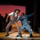 Left-right: Colman Domingo (Sheriff Bones) and Idriss Kargbo (Eugene Williams).  Photo by Richard Hubert Smith.
