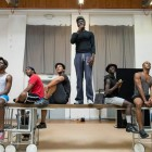 The Scottsboro Boys in rehearsal. Photo by Richard Hubert Smith.