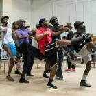 The Scottsboro Boys in rehearsal. Photo by Richard Hubert Smith.